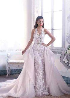 f33b01488943 DP400 - Louise, Demetrios Fit And Flare Wedding Dress, Sexy Wedding Dresses,  Princess