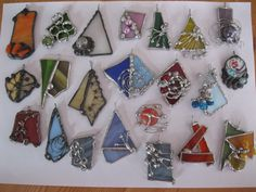 stained glass jewelry