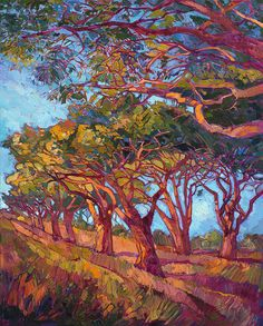 ERIN Hanson is a life-long painter, beginning her study of oil painting at 10 years old. As a teenager, she worked in a mural studio creating paintings for restaurants and casinos around the world. A graduate of UC Berkeley, Erin Hanson took pau...