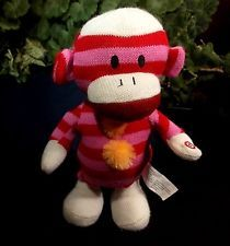 Gemmy Dancing Sock Monkey Pink Tick Tock Tic Toc Watch Action in Video Kesha