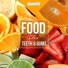 Foods high in Vitamin C help maintain the overall health of gum tissue. They help bolster the presence of collagen within the gums and thus makes them less susceptible to gum disease.
