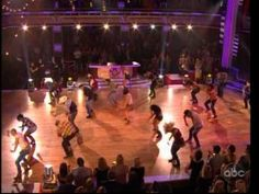 Sonny of Ncredible's 4 Count  and host of others danced to Footloose alongside the film remake's stars Julianne Hough and Kenny Wormald