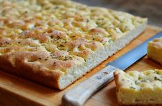 The Best Homemade Rosemary Focaccia -- Perfect for feeding a crowd!