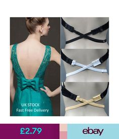 10b16b6697d6e Lingerie  amp  Nightwear Low Back Backless Adjustable Bra Strap Converter Bra  Extender-Buy 3