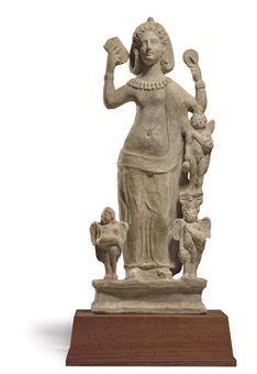 A ROMAN TERRACOTTA VENUS ASIA MINOR, CIRCA 3RD CENTURY A.D. A ROMAN TERRACOTTA VENUS Asia Minor,ca  3rd cent.BC Christie's