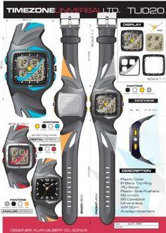 dine in Adobe Illustrator & photoshop Design Development, Industrial Design, Behance, Concept, Graphic Design, Watches, Industrial By Design, Wristwatches, Clocks
