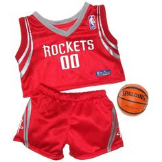 Houston Rockets Basketball Uniform 3 pc. Teddy Bear Sports Team Outfit Build A Bear Workshop Inc - http://www.nbamixes.com/houston-rockets-basketball-uniform-3-pc-teddy-bear-sports-team-outfit-build-a-bear-workshop-inc - http://ecx.images-amazon.com/images/I/51zJQc4YHjL.jpg
