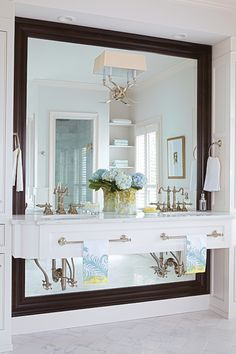 Birmingham Home and Garden - bathrooms - 2 Light Cross Bouillotte Sconce, vanity nook, washstand nook, floating double vanity