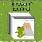 Do+you+need+ideas+for+journal+entries+during+your+dinosaur+theme?+  This+document+contains+a+cute+dinosaur+themed+cover+and+5+different+journal+pag...