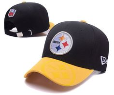 Pittsburgh Steelers NFL Baseball Caps Black Yellow Curved Brim Hats|only US$6.00 - follow me to pick up couopons.