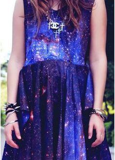 Robe galaxie Romwe