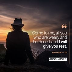 Come to me, all you who are weary and burdened, and I will give you rest. Born Again Christian, Christian Girls, Christian Quotes, Favorite Bible Verses, Bible Verses Quotes, Bible Scriptures, Psalm 119 11, Quotes To Live By, Life Quotes