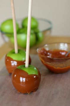 candy apple ideas | Supplies for Caramel Candy Apples: