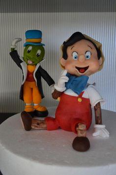 Pinocchio with Jiminy Cricket