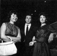 María Callas, Christa Ludwig, Corelli