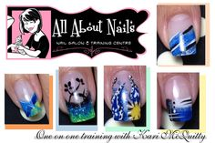 Nail designs taught here at All About Nails & Training.  www.allaboutnails.org