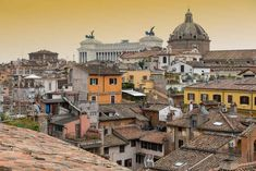 rooftops in Rome