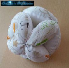 Greifball mit Glöckchen für eine Freundin die ein Baby bekommt