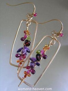 earrings, Earrings design image, earrings desings, earrings image, earrings photo, earrings picture, fashion http://www.womans-heaven.com/earrings-image-13/
