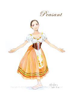Ballet Art, Ballet Dance, Ballet Illustration, Ballet Costumes, Costume Design, Art Girl, Artsy, Writing, Manga