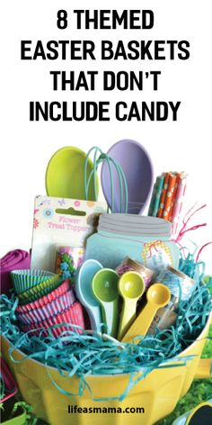 Easter basket ideas with world market basket ideas easter baskets 8 themed easter baskets that dont include candy negle Images