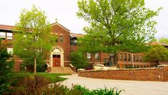 The oldest building on-campus at Newman University. It was built in 1922.