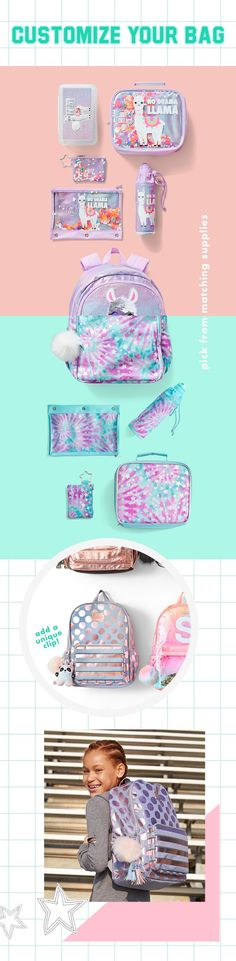 New Arrivals In Tween Girls' Clothing Justice Bags, Shop Justice, Justice Backpacks, Justice Stuff, Alpacas, Dance Outfits, Girl Outfits, Camo Denim Jacket, E Claire