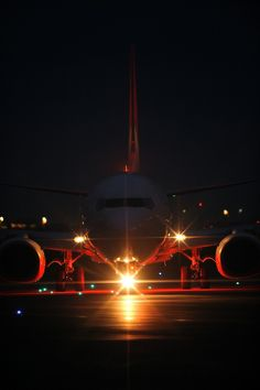 Night Flight - Boeing 737-800