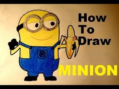How to draw minion