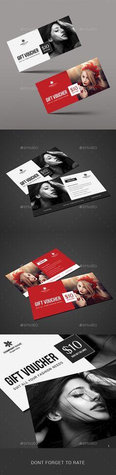 Beauty Fashion Gift Voucher Template #design Download: http://graphicriver.net/item/beauty-fashion-gift-voucher/11315751?ref=ksioks