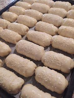 Greek Recipes, Hot Dog Buns, Bread, Breakfast, Food, Morning Coffee, Brot, Essen, Greek Food Recipes