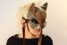 OOAK artesanal para arte bosque máscaras por AnotherEarthling