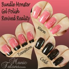 http://www.manictalons.com/2014/07/bundle-monster-gel-polish-beneath-it-all-collection.html - Bundle Monster Gel Polish Revived Reality