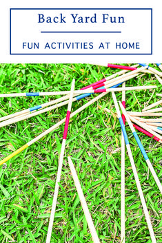 Have fun at home with these awesome Backyard Games from Everyday Party Magazine #Sponsored #OutdoorGames #OrientalTrading