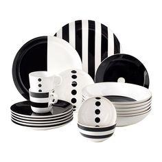 TICKAR Assiette IKEA Graphisme inspiré de la simplicité scandinave qui donne à cette vaisselle une allurée stylée.