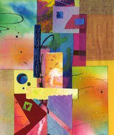 Fine Art Collage Colors Reunite Pencil Signed by artandwares, $43.99