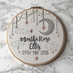 Awesome Most Popular Embroidery Patterns Ideas. Most Popular Embroidery Patterns Ideas. Baby Embroidery, Hand Embroidery Stitches, Embroidery Hoop Art, Hand Embroidery Designs, Cross Stitch Embroidery, Cross Stitch Patterns, Embroidery Ideas, Embroidery Sampler, Cross Stitch Baby