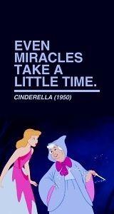 Cinderella, quotes, Disney movies, miracles