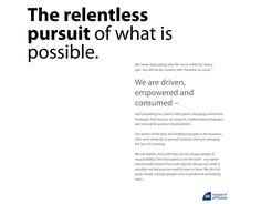 Never Settle, Relentless, Investing, Business, Store