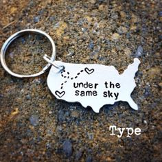 Items similar to State Keychain USA Keychain Best Friends Long Distance Relationship Gift Personalized Message on Etsy Long Distance Relationship Gifts, Long Distance Gifts, Distance Relationships, Relationship Quotes, Best Friend Gifts, Gifts For Friends, Best Gifts, To Infinity And Beyond, Friend Birthday