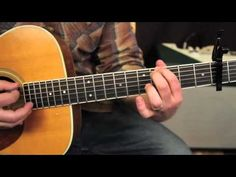 Mumford and Sons - The Cave - How to play on guitar - guitar lessons - tutorial - YouTube