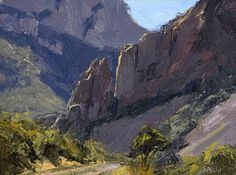 skip whitcomb paintings   Canyon Maze by M.W. Skip Whitcomb, Simpson Gallagher Gallery, Fine Art ...