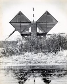 THE PEARLROTH HOUSE, AKA THE DOUBLE-DIAMOND HOUSE, WESTHAMPTON, 1959 Andrew Geller