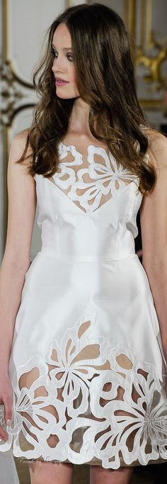 Yanina Spring-summer 2015 - Couture. ...I would love a version of this dress.