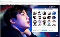 BTS Bangtan Boys Jin Wallpaper New Tab