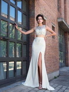 2017 Sexy Two-Piece Prom Dresses!