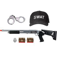 Cool toys for the kids Swat Costume Kids, Police Duty Gear, Swat Gear, Airsoft Girls, Nerf Toys, Kids Army, Army Gears, Kids Toys For Boys, Camping Games