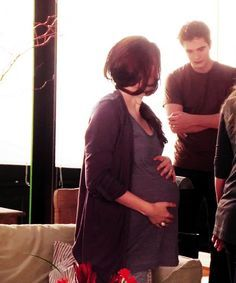 Bella went through a lot off blood while pregnant as that is what ...