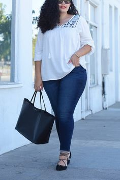 The Most Flattering Jeans for Your Body Type   via @PureWow