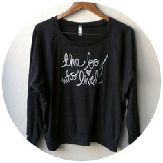 "Large, Harry Potter Shirt ""The Boy Who Lived"". MADE TO ORDER  Women's Slouchy Pullover"